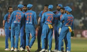 Indian cricket team defeated Sri Lanka at home in T20s