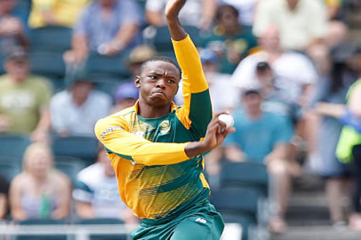 Kagiso Rabada has been ruled out due to injury