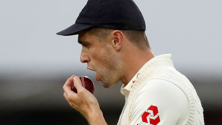 Ban on Saliva in Cricket