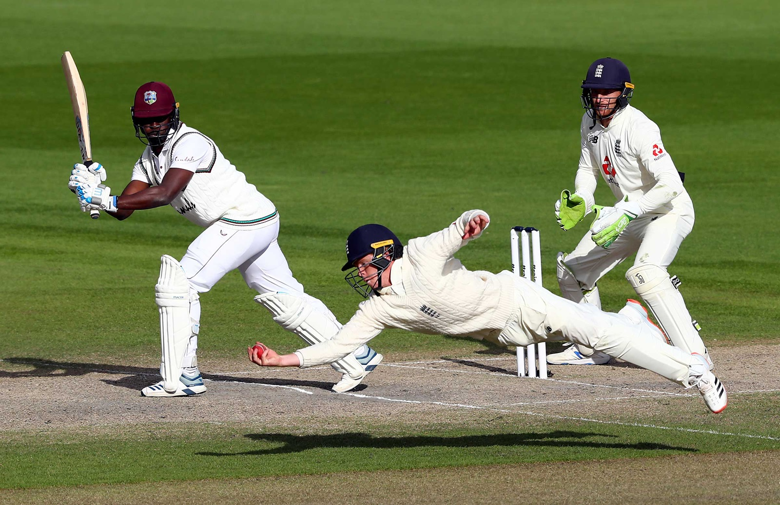England leveled the series against West Indies