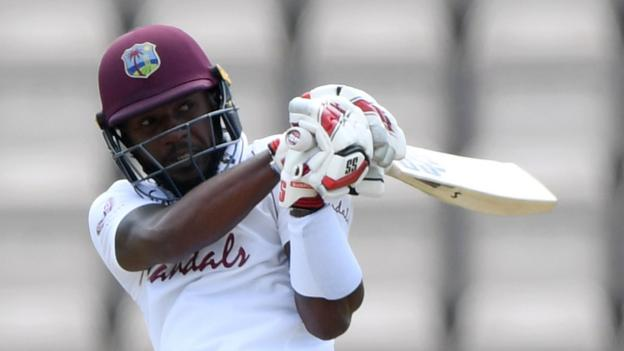 West Indies won the first test match against England(Cricket is back)