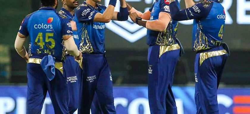 Mumbai Indians defeated Kolkata Knight Riders by 49 runs