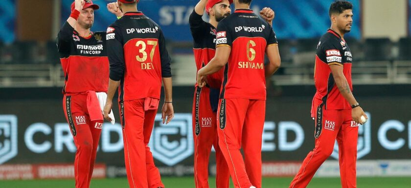 Royal Challengers Bangalore beat Sunrisers Hyderabad by 10 runs