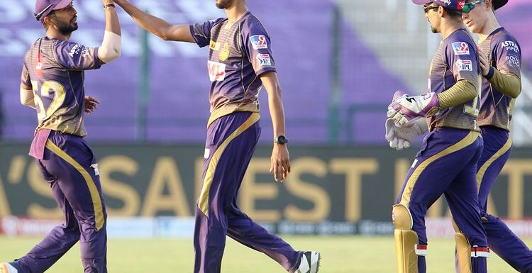 Kolkata Knight Riders defeated Kings XI Punjab by 2 runs