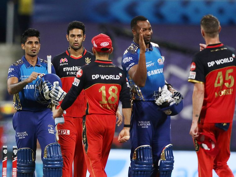 Mumbai Indians beat Royal Challengers Bangalore by 5 wickets