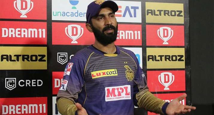 Dinesh Karthik stepped down as Kolkata Knight Riders Captain