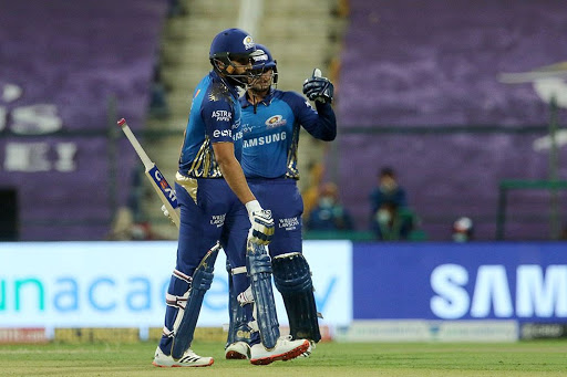 Mumbai Indians beat Kolkata Knight Riders by 8 wickets