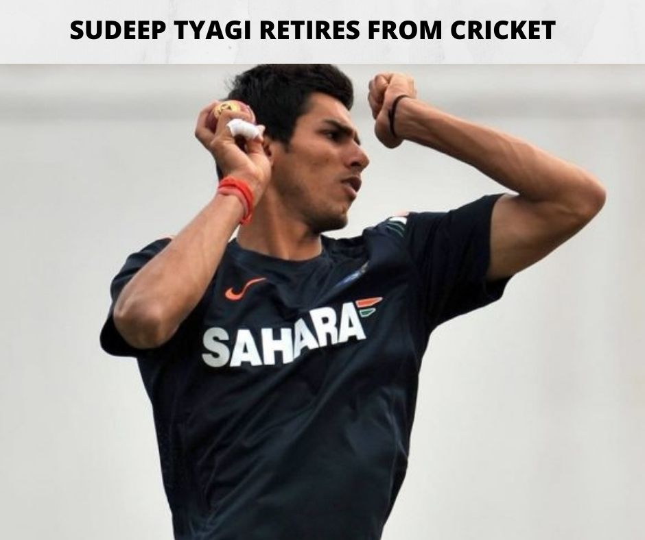 Sudeep Tyagi Retirement