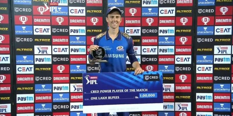 Cred Power Player of IPL 2020 I Powerful Performance I