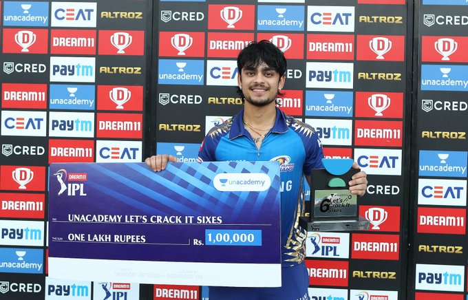 Unacademy Let's Crack It Sixes of the IPL 2020