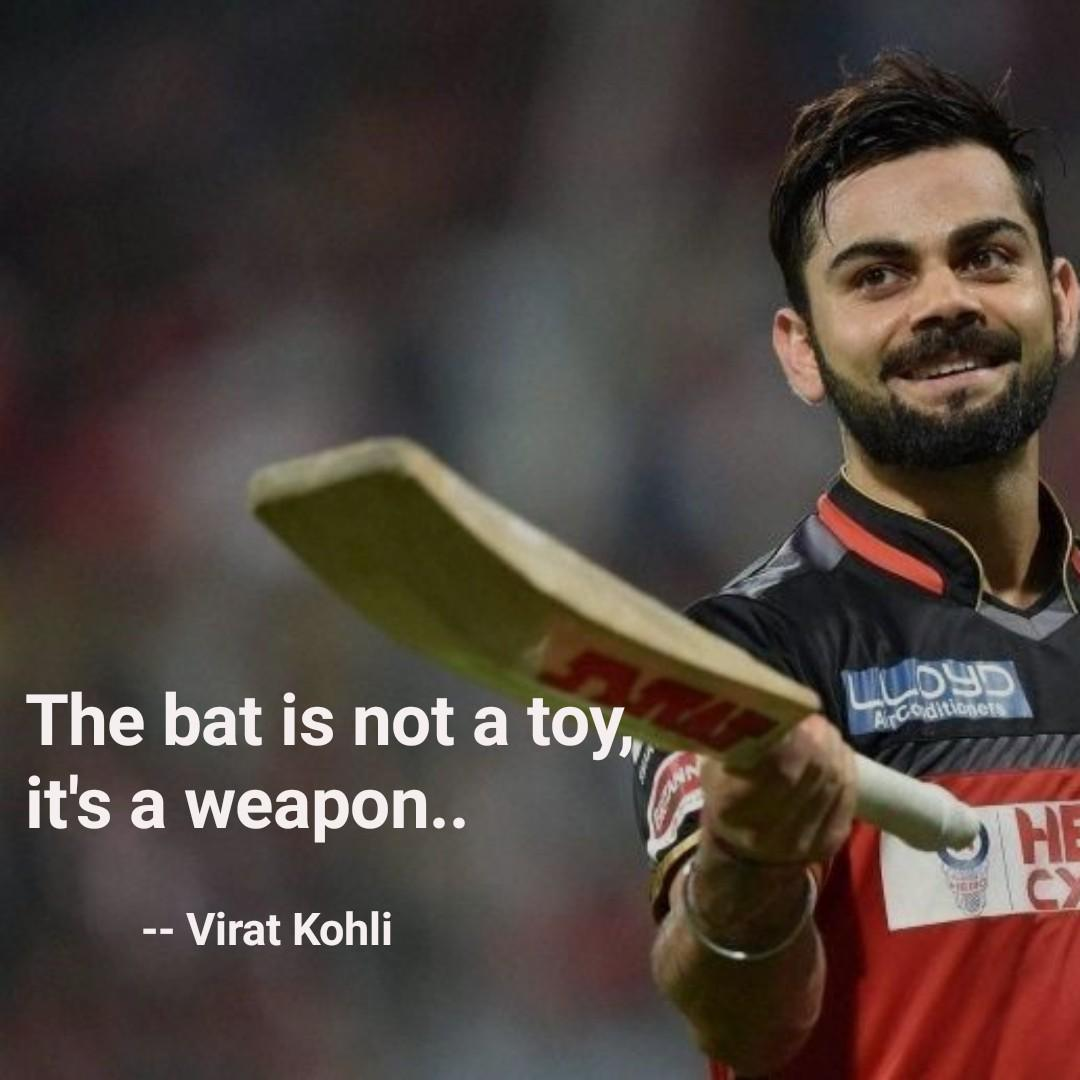 The Bat Is Not A Toy It's A Weapon.