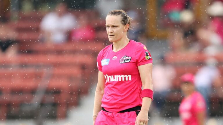 Sarah Aley Retirement I Announcement made in WBBL I