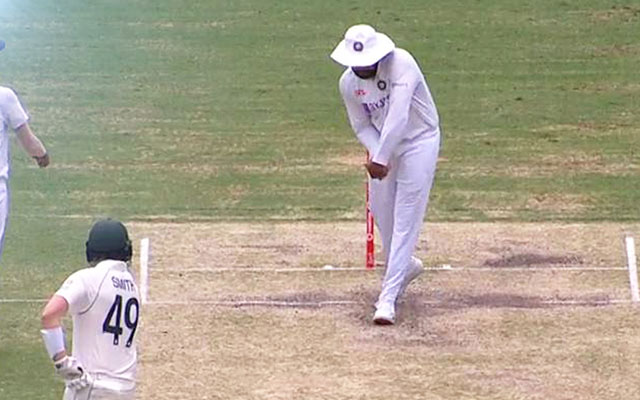 Rohit Sharma Does Shadow Practice to tease Steve Smith