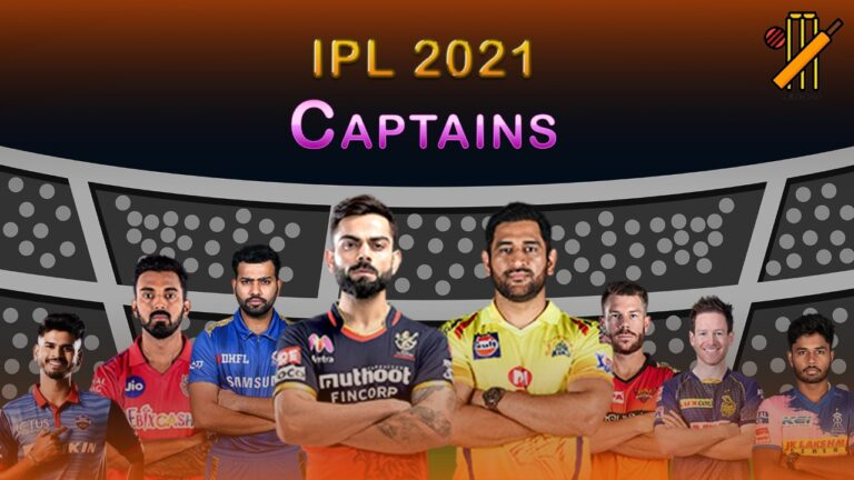 IPL 2021 Captains | Who is Going to Lead Whom?