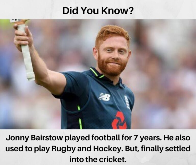 Unknown Facts About Jonny Bairstow I Fact No 6 I Cricketfile