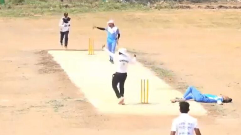 Man Dies After Collapsing at Non Striker End I Cricketfile
