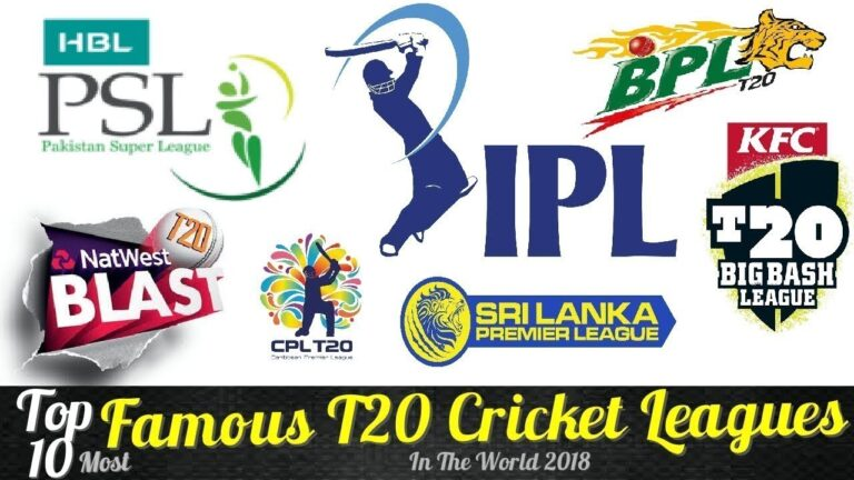 Top 10 Cricket Leagues In The World | What Are They?