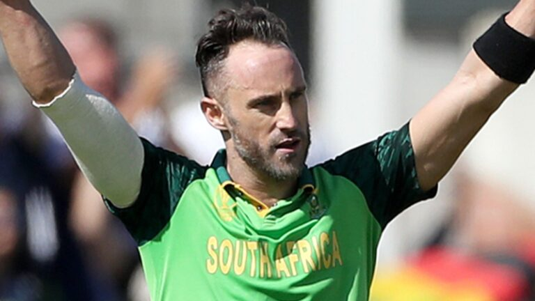 Faf du Plessis | South African Cricketer I Cricketfile